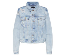 Jacke 'de-Velvet' blue denim