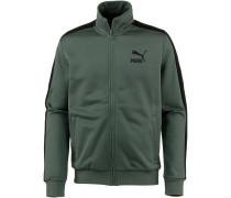 'Classics T7' Jacke dunkelgrün