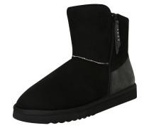 Boots 'Uma Zip Bootie' schwarz