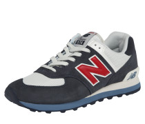 Sneaker 'ml574' navy / weiß