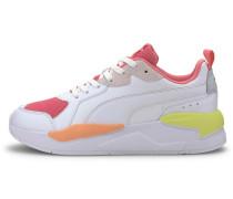 Sneaker 'X-Ray Game' weiß / neongelb / rot
