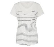 T-Shirt mit Streifendruck