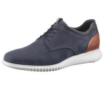 Sneaker 'Aristo' blau / cognac / weiß
