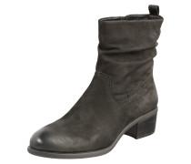 Ankle Boots 'Odette' aus Leder anthrazit