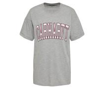 T-Shirt 'Carrie Division' hellgrau