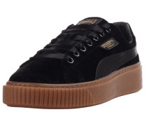 Sneaker 'Basket Platform VS' schwarz
