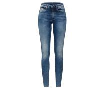 Jeans '3301 Deconst' blau
