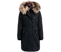 Mantel 'meryem2 Solid With Inner FUR Jacket'