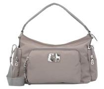Handtasche 'Elba Aziza' hellgrau