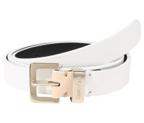 Gürtel '2Cm Metal Loops Belt' weiß