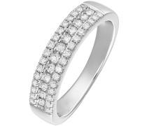 Diamonds Ring silber / weiß