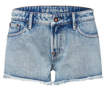 Jeans 'Monroe Short' blau