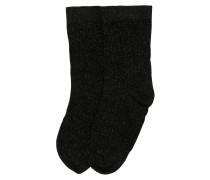 Socken 'Stella shimmery' schwarz