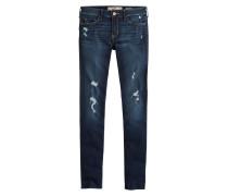 Jeans 'dark Destroy' blue denim