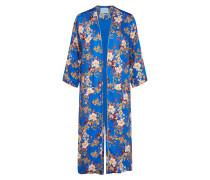 Kimono royalblau / goldgelb