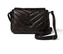 Überschlagtasche 'Ondra' schwarz