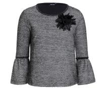 Edel-Sweatshirt schwarz