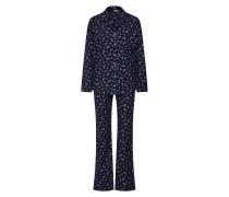 Pyjama 'delphie CAS NW' nachtblau