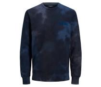 Batik Sweatshirt blau