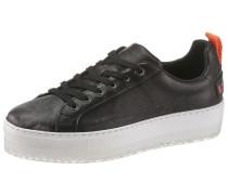 Sneaker 'Lenglas' orange / schwarz