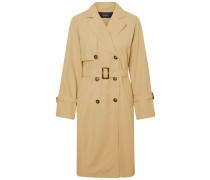Langer Trenchcoat beige