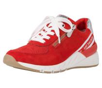 Sneaker hellrot / weiß