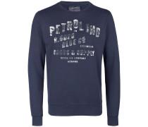 Pullover dunkelblau / silber
