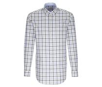 Hemd rauchblau / rauchgrau / weiß