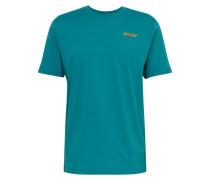 Sport-Shirt 'iridium' grün
