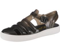 Sandalen 'Crystal' schwarz