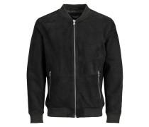 Hochwertige Lederjacke schwarz