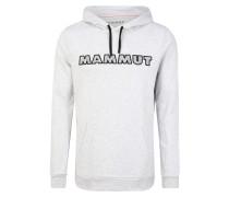 Sweatshirt schwarz / hellgrau