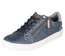 Sneaker mit Zipper dunkelblau