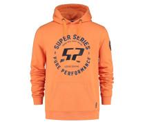 Kapuzen-Sweatshirt 'superseries' orange