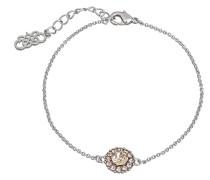 Armband 'Celeste' rosa / silber