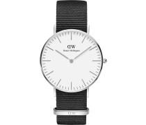 Uhr schwarz / weiß