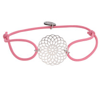 Armband 'Sun' rosa / silber