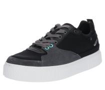 Sneaker 'danny' grau / schwarz / weiß