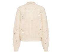 Pullover 'slftula' wollweiß