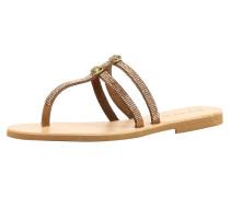 Sandale braun