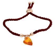Armband 'ubb71292' rosegold / orange / rot