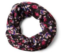 Schal blau / pink / rosa / schwarz
