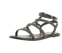 Sandale 'lakke' schwarz