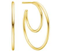 Ohrringe 'Sphere' gold