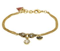 Armband 'ubb81184' gold / rot / schwarz