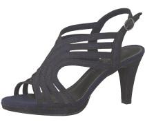 Sandalette navy / schwarz