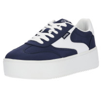 Sneaker 'claus' navy / weiß
