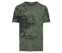 Shirt oliv / schwarz