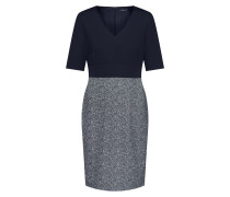 Kleid nachtblau / grau