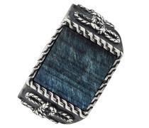 Ring 'c4226R/90/ag/58' blau / silber